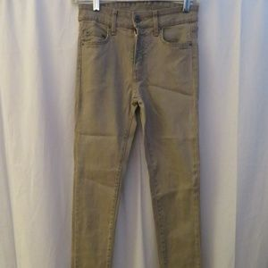 CARMAR BLUE TAN ACIDWASHED STRETCH SKINNY JEANS 25